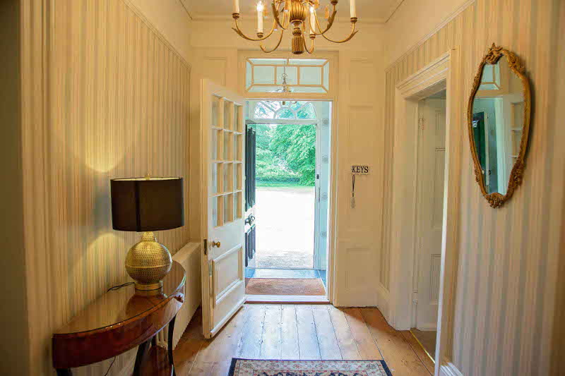 Beachley House Entrance Hallway