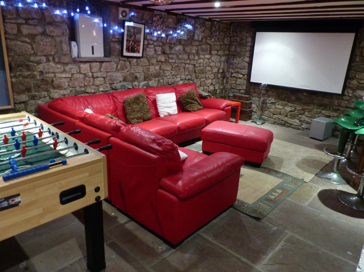 Cinema and Games Room